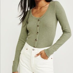 2 for $30!!!! Abercrombie Icon Button Cardigan